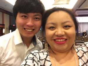 MSU TRIO SSS student Tai Nguyen and TRIO SSS staff member Nhoua Yang.